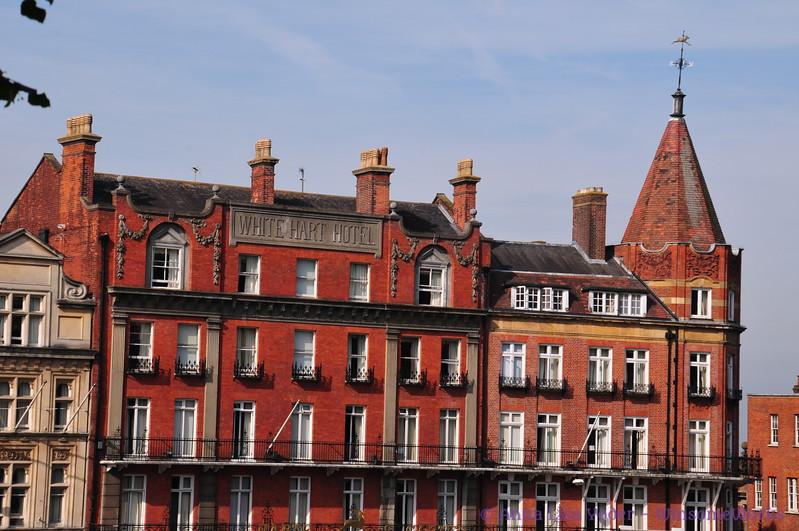 White Hart Hotel - across from Windsor Castle