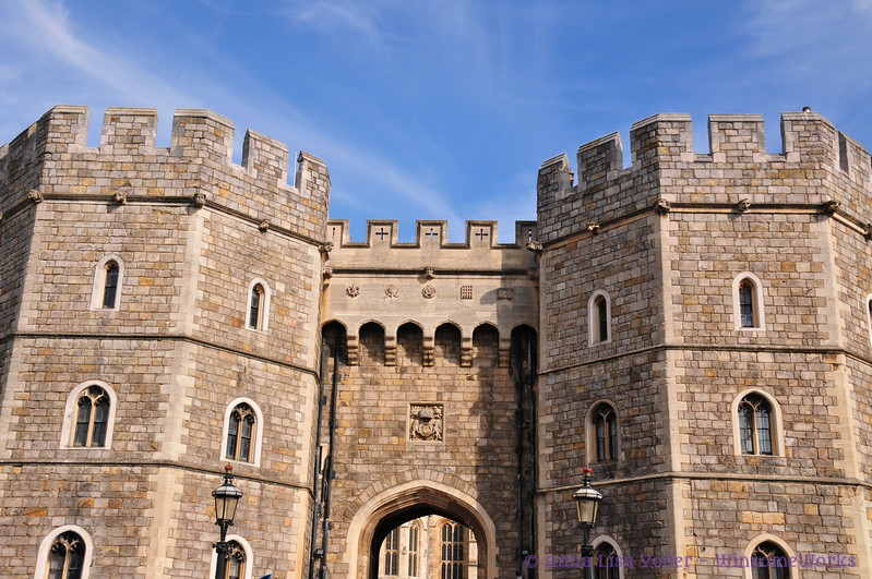 Outer wall of Windsor Castle
