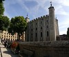 Tower of London with upper wall