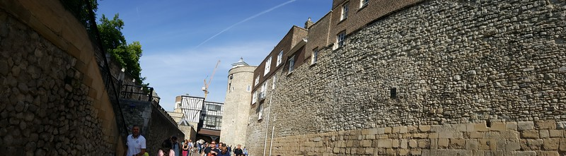 Outer Wall of Tower of London