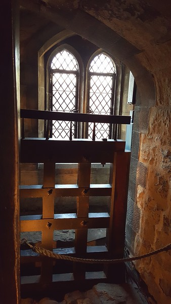 Portcullis in Tower of London??