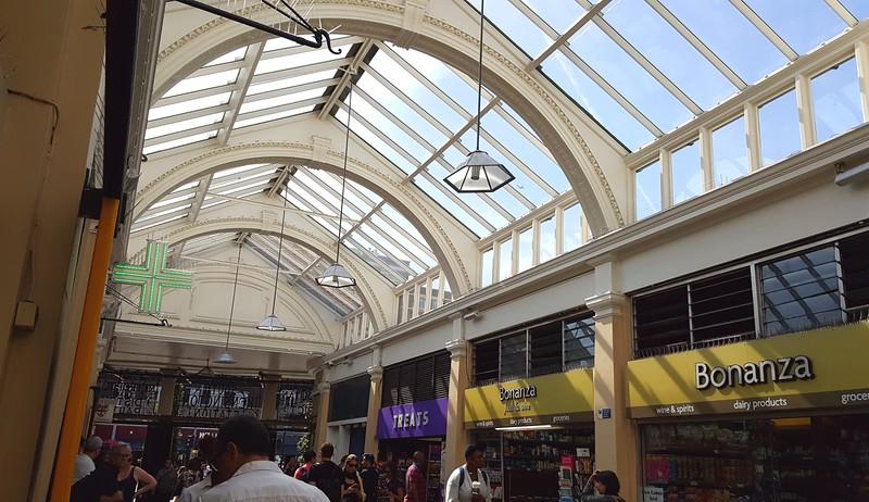 Inside South Kensington Station