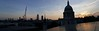 London pano from top of One Change Place