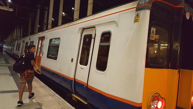 ThamesLink train in Liverpool Station