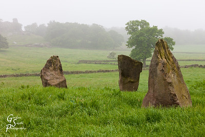 Stone Circle in a Field