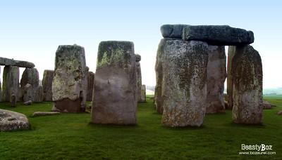 Stonehenge, England 22nd February 2005