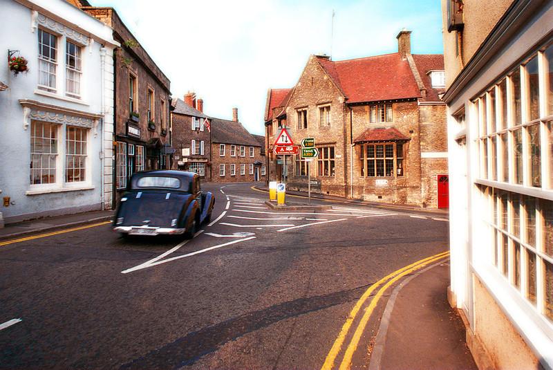 Bruton, Somerset, England.<br /> 1990