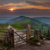Mam Tor Bridleway Sunrise