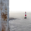 Chalk Cliffs and Lighthouse