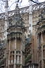 Buttress supports and their gargoyle guardians Westminster Abbey