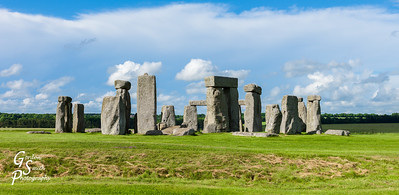 Stonehenge Panoramic Stone Circle
