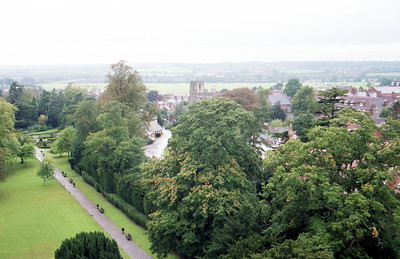 View from Warwick Castle.
