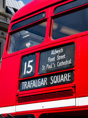 Destination Trafalgar Square