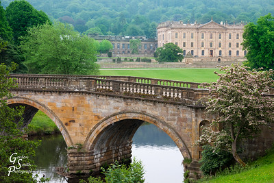 Chatsworth House Bridge