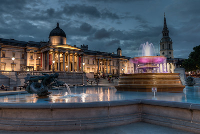 National Gallery at Trafalgar Square2 (HDR)