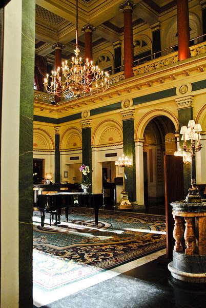 Lobby of the Grosvenor Hotel, London<br /> July 6, 2009
