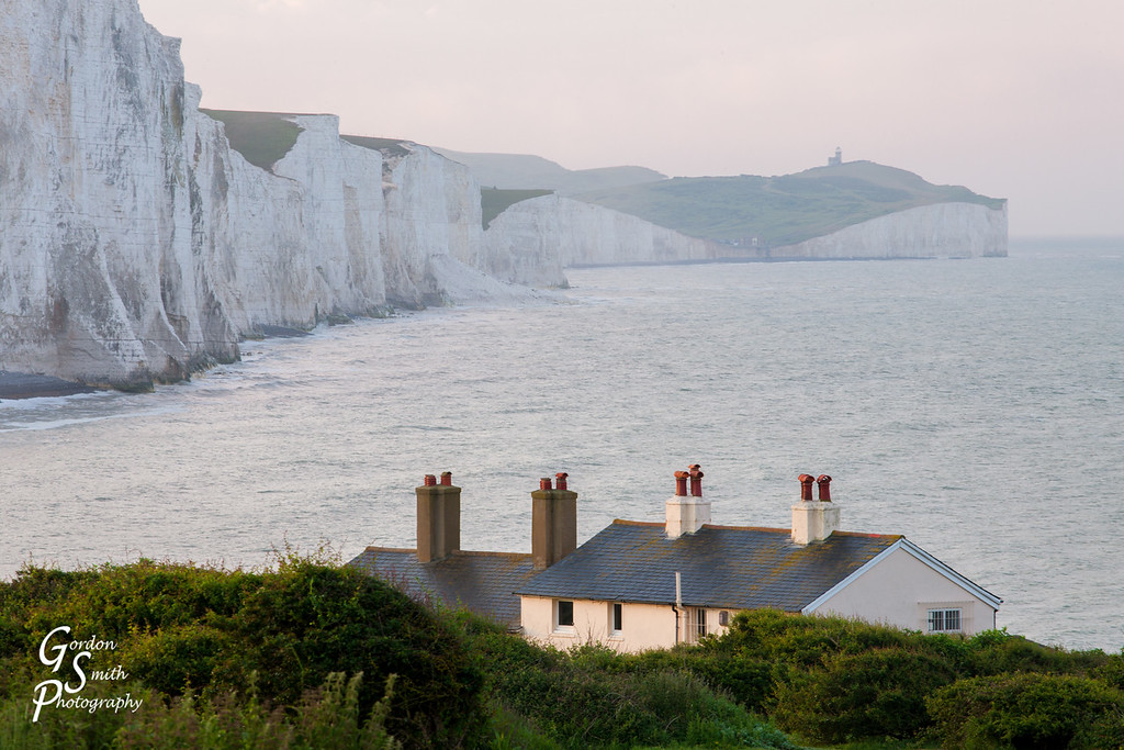 View of Birling Gap and Seven Sisters