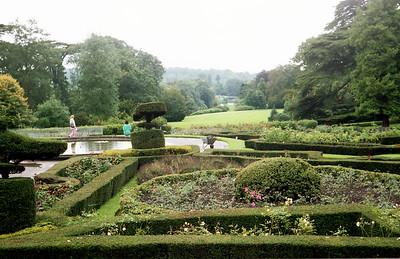 Warwick Castle Rose Garden.