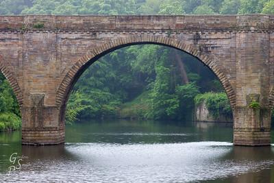 Seeing under Prebend's Bridge