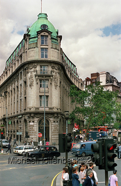 Lloyds Bank Limited, Aldwych Branch, 346 Strand WC2, London, England.