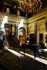 Lobby of the Grosvenor Hotel, London