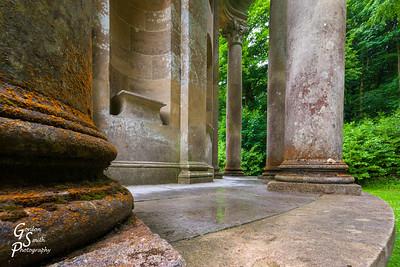 Stourhead Temple Columns