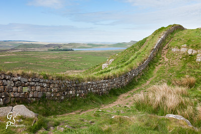 Hadrian's Wall and Distant Reservoir