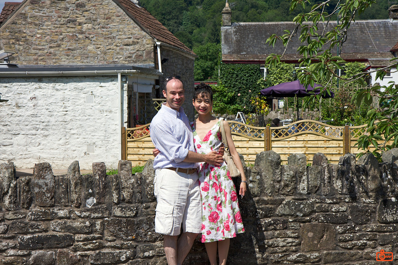 Richard and Rosa near Tintern Abbey.<br /> IMG_4123