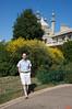 Richard behind the Royal Pavilion.<br /> IMG_4297