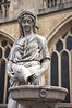 Statue outside of Bath Abbey. Just practicing taking photos.<br /> IMG_4162