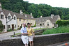 Rosa and Richard in the village of Castle Combe. It is known as the most attractive village in England.<br /> IMG_4192