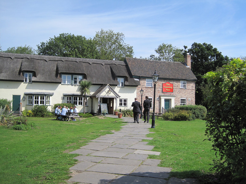 The Cunning Man pub near Reading.