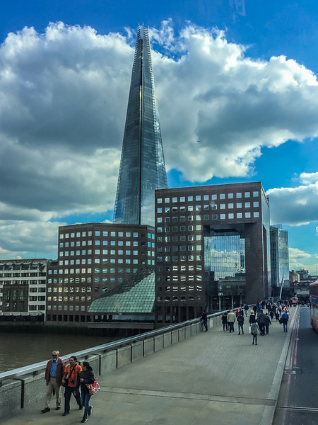 The Shard sky scraper.