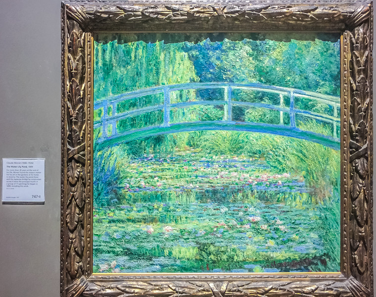 The Water-Lily Pond, by Claude Monet