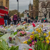 Lovely sentiments of support from visitors from all over the world remembering the horrific attack on pedestrians at Westminster Bridge on March 22, 2017.<br><br>  Attacker Khalid Masood, 52, killed four pedestrians and injured about 50 others as he mowed down members of the public with a car on Westminster Bridge at about 2:40pm on Wednesday [the 22nd]. <br><br>  It was moving to see people browsing through the flower bed reading whatever was left of written well-wishes, consolations, and remembrances.