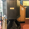 John Bunyan Museum. The Pulpit Bunyan preached from.