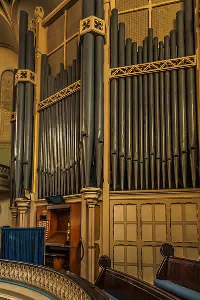 Pipe organ at Westminster Chapel.