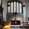 "The Chapel Royal of St. Peter ad Vincula (""St. Peter in chains"") is the parish church of the Tower of London. It is situated within the Tower's Inner Ward and dates from 1520. It is a Royal Peculiar. The name refers to St. Peter's imprisonment under Herod Agrippa in Jerusalem. The Chapel is probably best known as the burial place of some of the most famous prisoners executed at the Tower, including Anne Boleyn, Catherine Howard, Lady Jane Grey, Thomas Cromwell, Thomas More and John Fisher. (<a href=""https://en.wikipedia.org/wiki/Church_of_St_Peter_ad_Vincula"">Wikipedia</a>)<br><br>  At the time of my visit I understood there were a few crypts in plain view where important figures were interred. But, I had no idea that we were literally in a cemetery of no small number of burials.  <a href=""https://www.theanneboleynfiles.com/anne-boleyns-remains-the-exhumation-of-anne-boleyn/"">Here</a> is a fascinating article with a map of the burial positions within St. Peter ad Vincula."