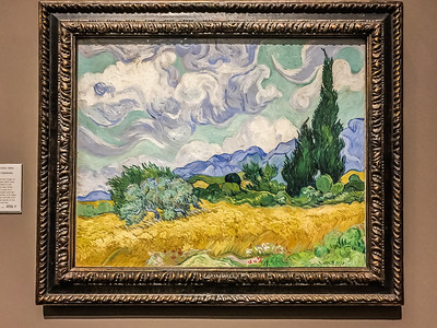 "Van Gogh's ""Wheatfield with Cypresses."""