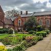 John Bunyan Museum garden.