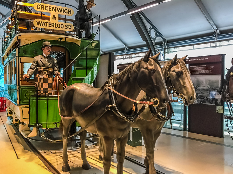 A public car would move quicker on rails while horse-pulled than on wheels.