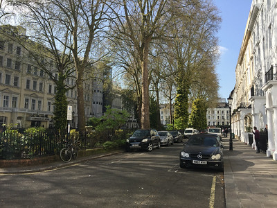 Norfolk Square, Paddington, London
