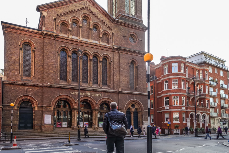 "Westminster Chapel is an Evangelical Free Church in Westminster, central London. The church is in Buckingham Gate, on the corner of Castle Lane and opposite the junction with Petty France. Buckingham Gate is just off Victoria Street and near Buckingham Palace.<br><br>  The church has had several notable pastors including G. Campbell Morgan (1904–17, 1933–43), John Henry Jowett (1918–22), Martyn Lloyd-Jones (1939–68), R. T. Kendall (1977–2002) and Greg Haslam (2002–16).<br><br>  Perhaps the greatest aspect of Martyn Lloyd-Jones' legacy has to do with his preaching. Lloyd-Jones was one of the most influential preachers of the twentieth century. Many volumes of his sermons have been published by Banner of Truth. His preaching style may be summarized as 'logic on fire' for several reasons. First, he believed that the use of logic was vital for the preacher. But his view of logic was not the same as that of the Enlightenment. This is why he called it logic ""on fire."" The fire has to do with the activity and power of the Holy Spirit. He therefore believed that preaching was the logical demonstration of the truth of a given passage of Scripture with the aid, or unction, of the Holy Spirit. (<a href=""https://en.wikipedia.org/wiki/Martyn_Lloyd-Jones"">Wikipedia</a>)"
