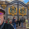Selfie! That be me!<br /> <br /> Outside Buckingham Palace.