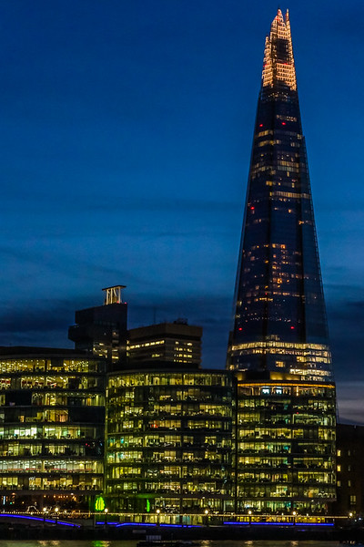 The Shard Tower.