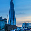 "The Shard, also referred to as the Shard of Glass, is a 95-story skyscraper in Southwark, London, that forms part of the London Bridge Quarter development. Standing 309.7 metres (1,016 ft) high, the Shard is the tallest building in the United Kingdom. (<a href=""https://en.wikipedia.org/wiki/The_Shard"">Wikipedia</a>)  Additionally, the Shard makes for another great photographic subject given its stature and reflective surfaces."