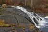 Falls below Highway 573 on the Englehart River