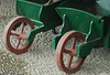 Edwardian wheelbarrows at Heligan