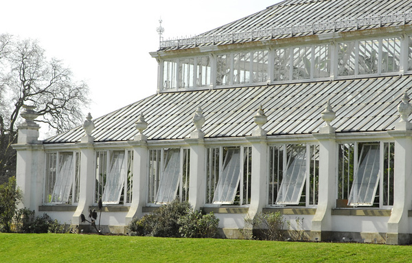 The old Kew Temperate House, which has been magnificently restored.