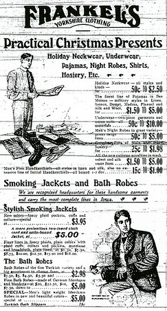Frankels Ad  early 1900s